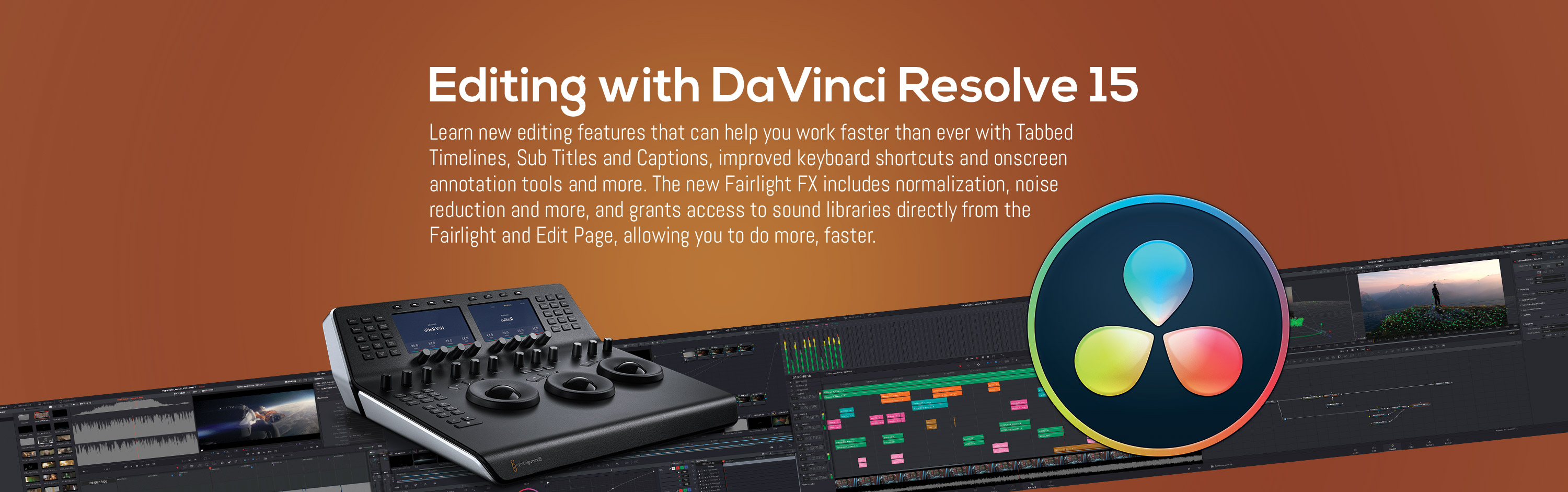 Editing with Davinci Resolve